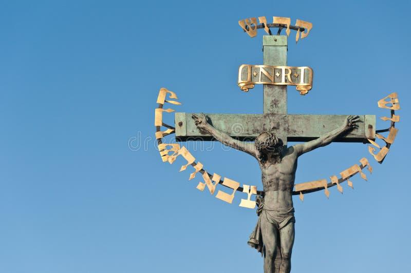 Download Religious Detail Of Charles' Bridge In Prague Stock Image - Image: 22951531