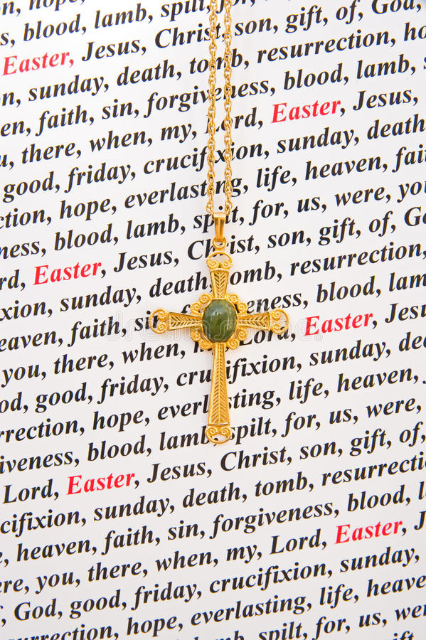 Download A religious Easter card. stock image. Image of blood - 13514569