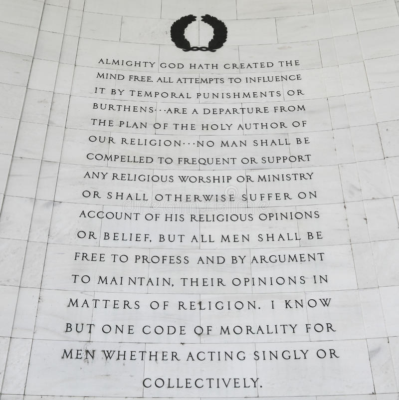 Religious Freedom Stock Images