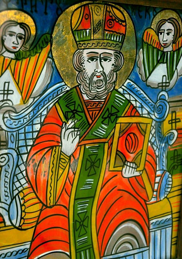 Download Religious icon in Romania stock photo. Image of card - 20904090