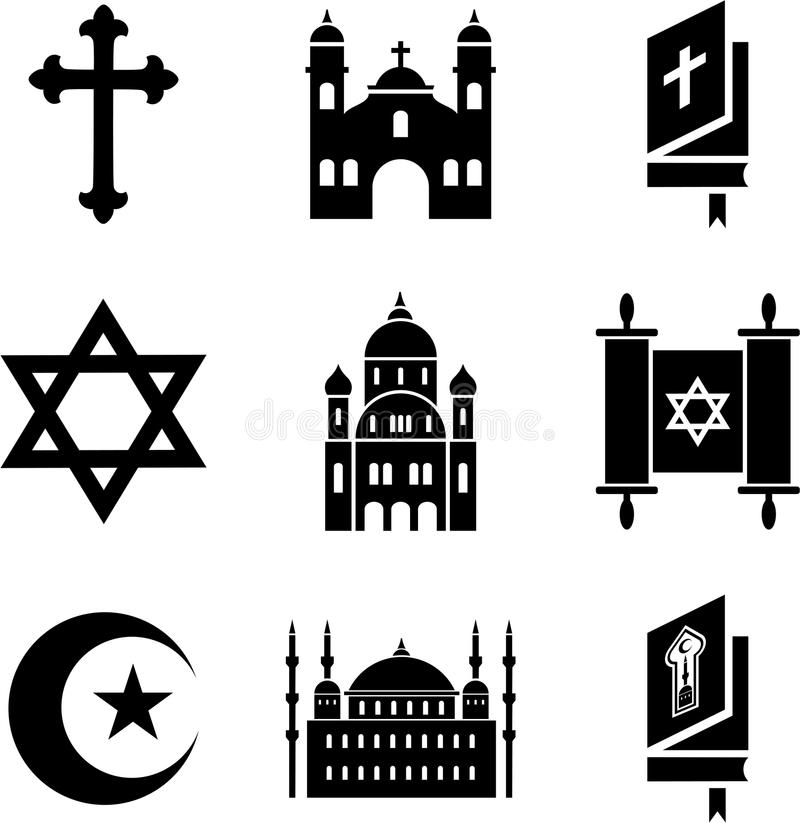 Download Religious icons stock vector. Image of icons, mosque - 27336450