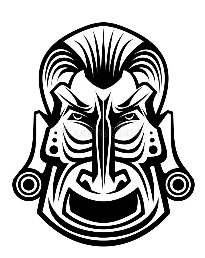 Download Religious mask stock vector. Image of artistic, background - 19877176