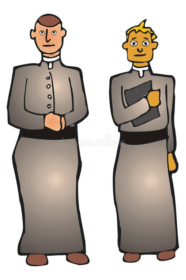 Download Religious men stock vector. Image of priest, pastor, praying - 4084854