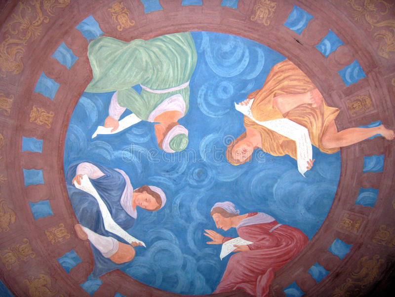 Religious Paintings Royalty Free Stock Photography