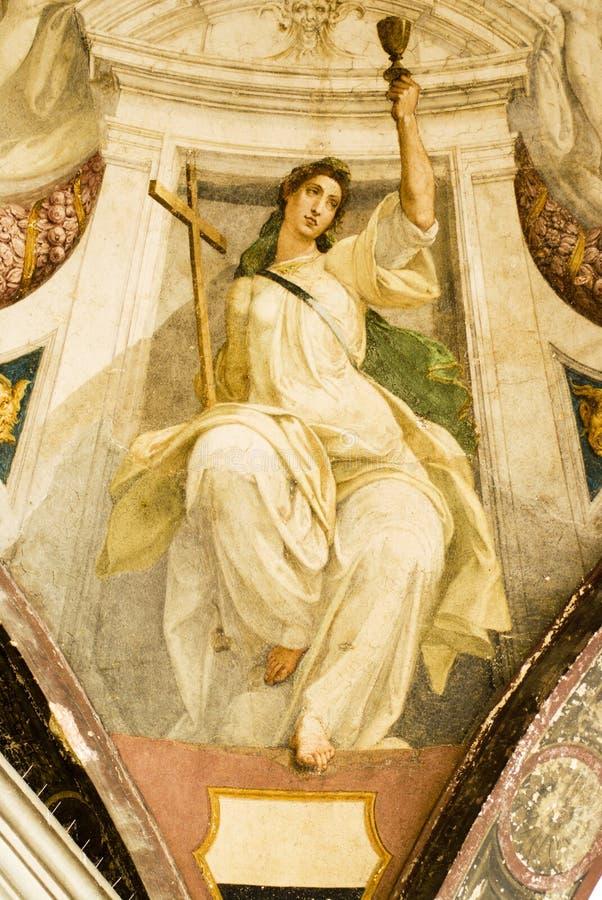 Religious paintings stock photos