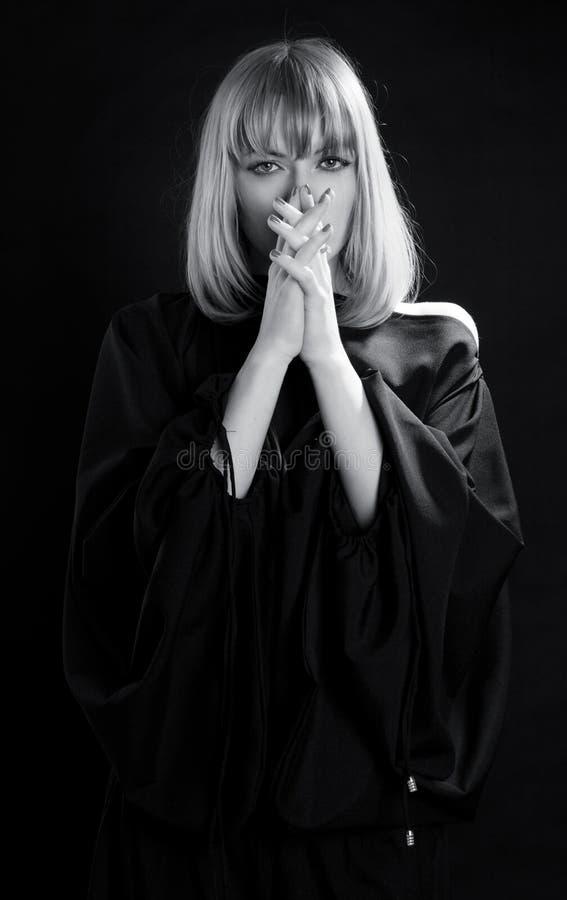 Religious Praying Woman