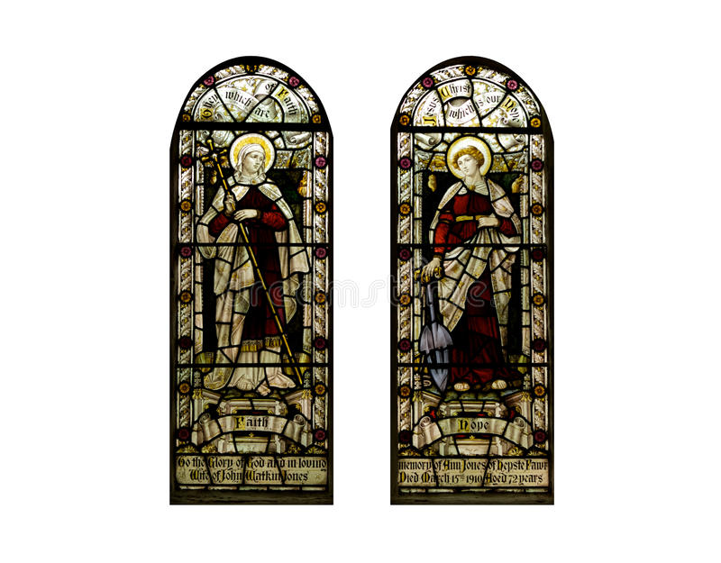 Download Religious Stained Glass Windows, Cathedral Stock Photo - Image: 12095310