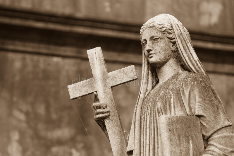 Download Religious Statue stock image. Image of death, detail - 28464963