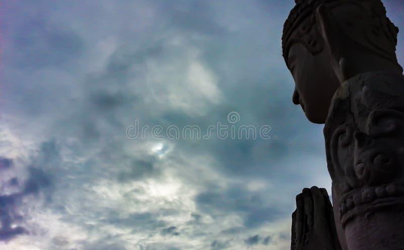 religious status wai royalty free stock photo