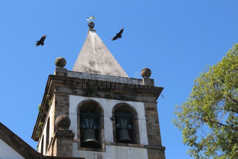 Religious Tourism in Rio de Janeiro Downtown stock images