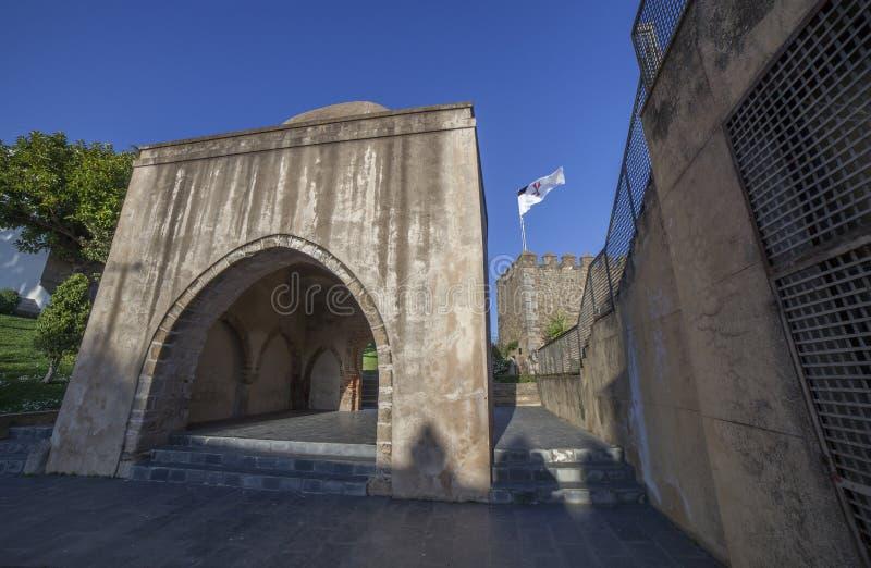 Relikskrin för El Morabito eller Marabout, Jerez de los Caballeros, Spanien royaltyfri fotografi