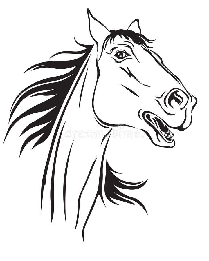 Relinchos de los caballos libre illustration