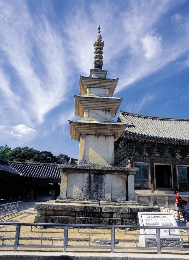 Reliquia coreana fotografía de archivo