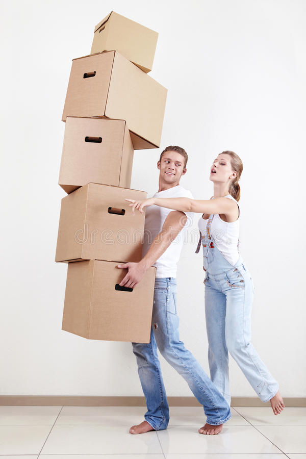 Relocating stock photography