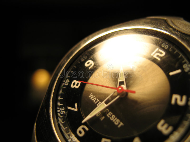 Reloj único imagen de archivo