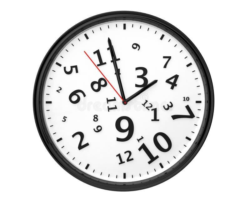 Reloj moderno abstracto imagenes de archivo