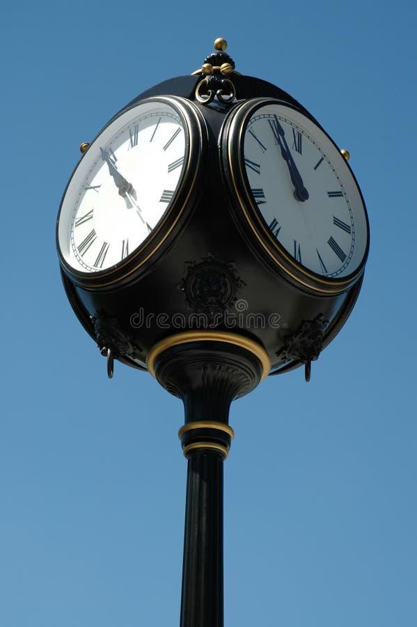 Reloj adornado foto de archivo