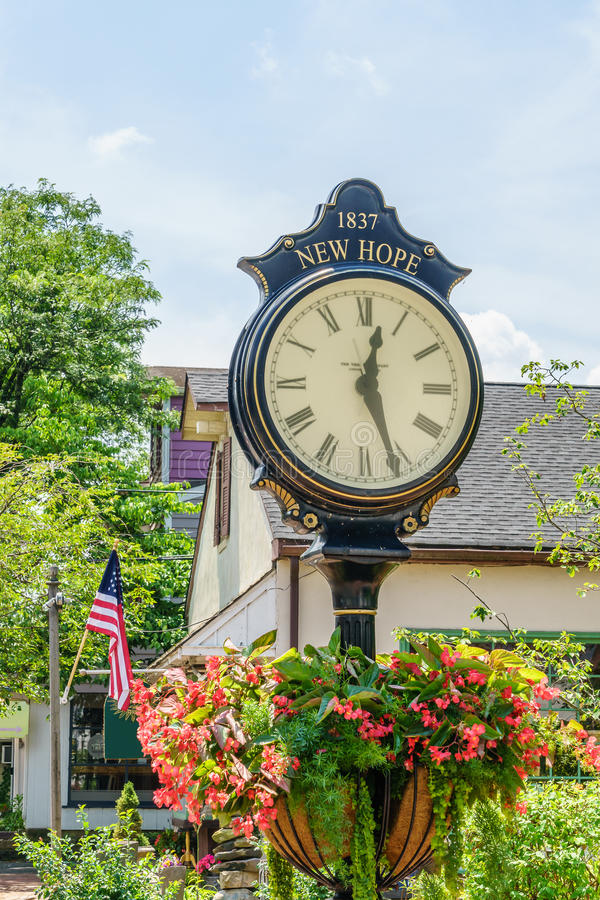 Reloj agradable en la nueva esperanza histórica, PA foto de archivo