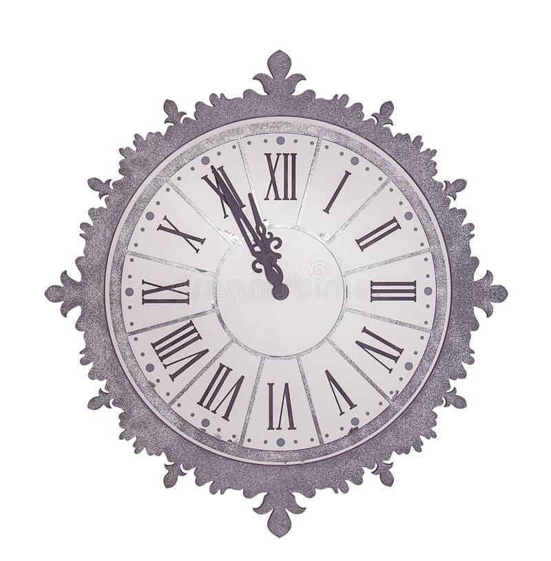 Reloj antiguo imagen de archivo libre de regalías