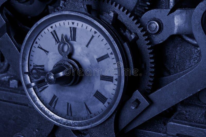Reloj antiguo del grunge imágenes de archivo libres de regalías