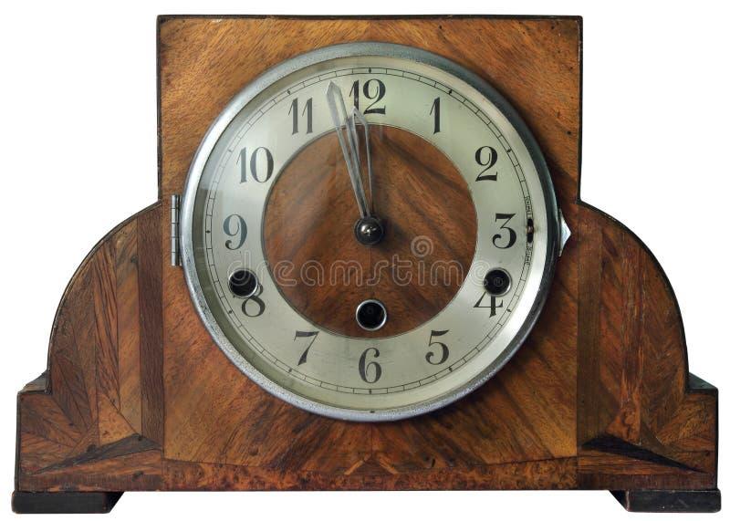 Reloj antiguo viejo fotografía de archivo