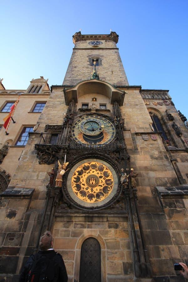 Reloj astron?mico de Praga fotografía de archivo libre de regalías