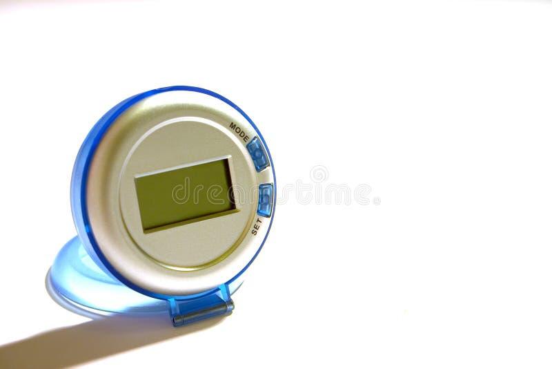 Reloj azul fotos de archivo