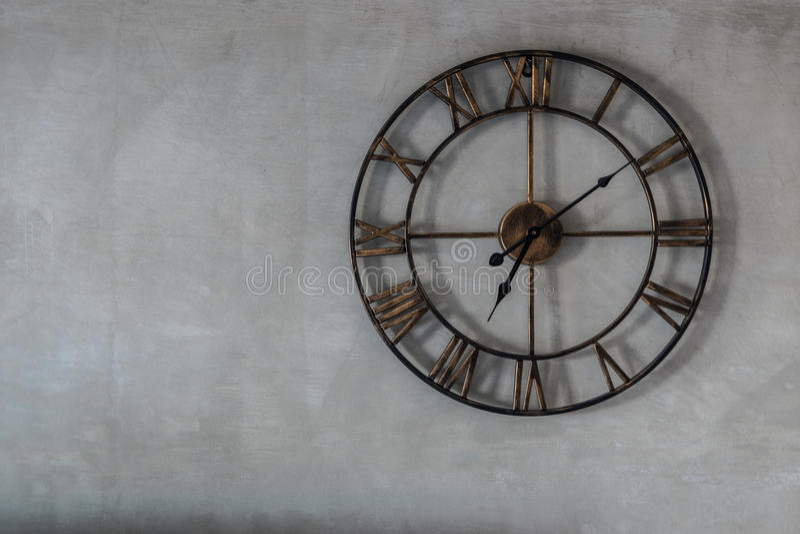 Reloj clásico foto de archivo