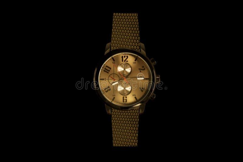 Reloj costoso del reloj foto de archivo
