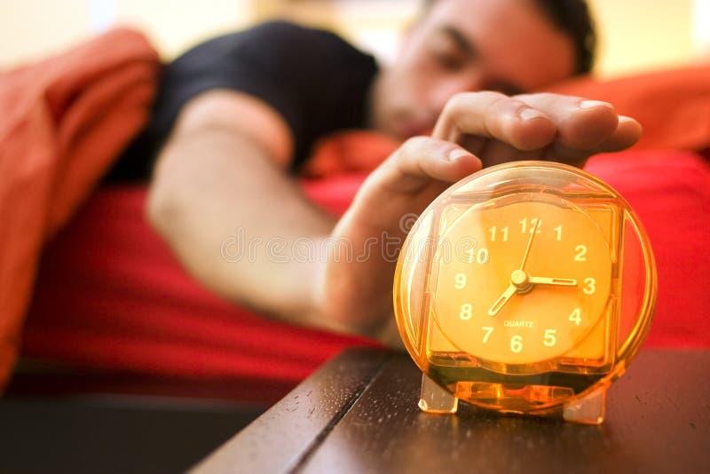 Reloj de alarma 02 foto de archivo