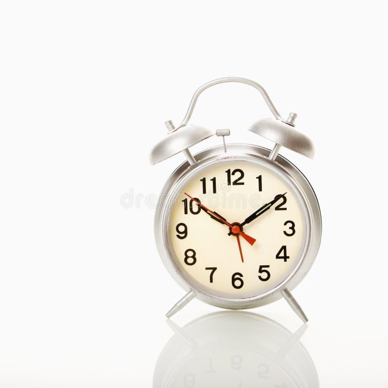 Reloj de alarma. imagen de archivo libre de regalías