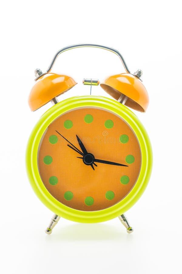 Download Reloj de alarma clásico imagen de archivo. Imagen de blanco - 64212123