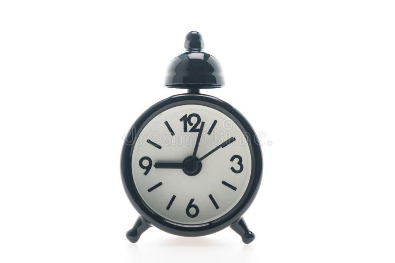 Download Reloj de alarma clásico foto de archivo. Imagen de rojo - 64212334