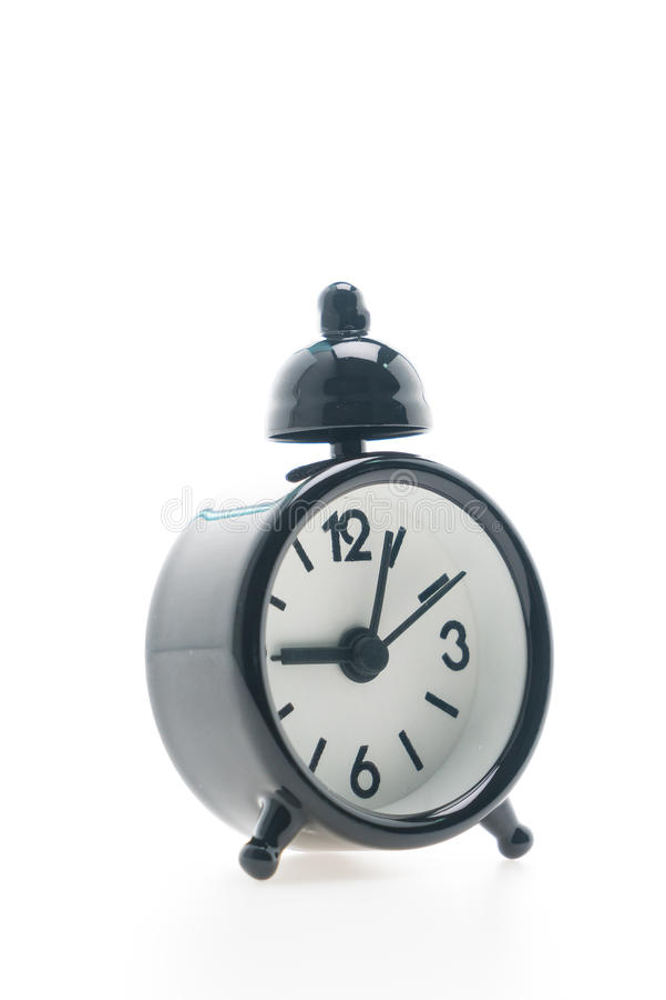 Download Reloj de alarma clásico foto de archivo. Imagen de fondo - 64212342