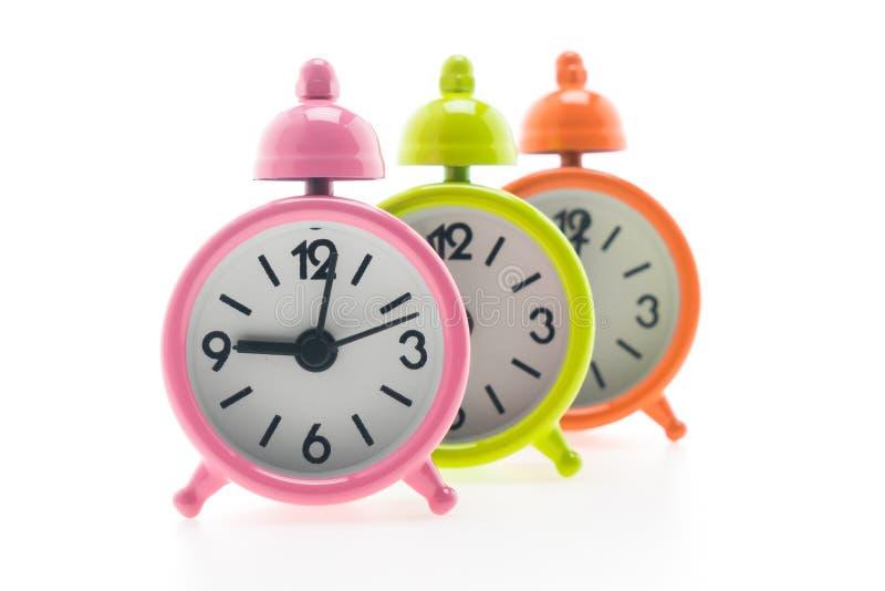 Download Reloj de alarma clásico imagen de archivo. Imagen de hora - 64212349