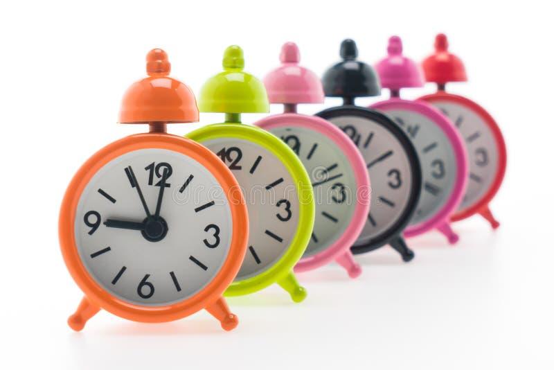 Download Reloj de alarma clásico foto de archivo. Imagen de metal - 64212376