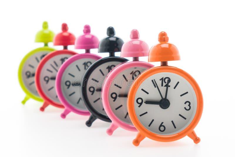Download Reloj de alarma clásico foto de archivo. Imagen de objeto - 64212384