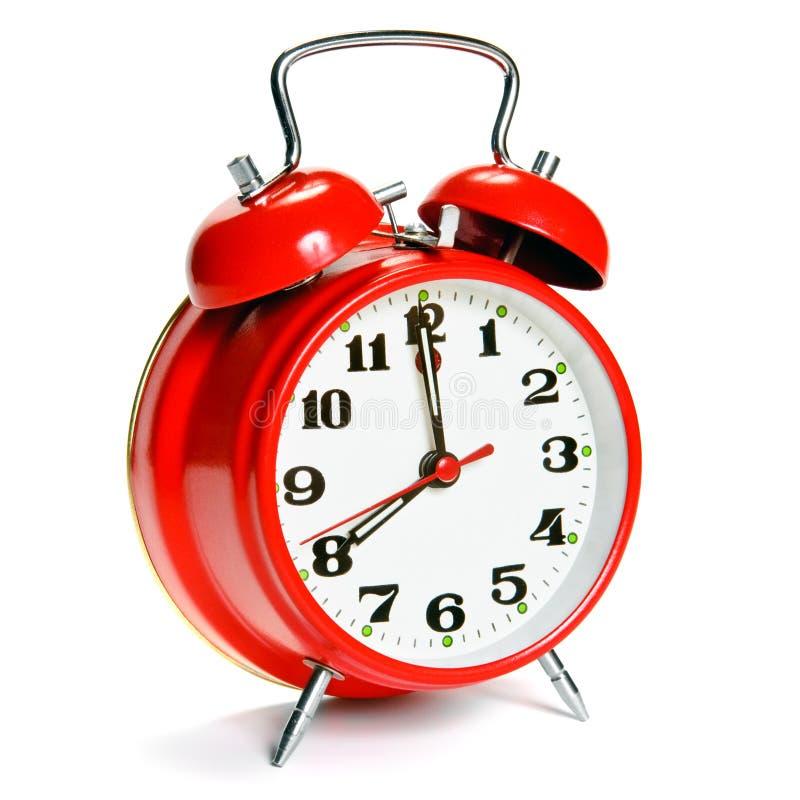Reloj de alarma de la vendimia fotos de archivo libres de regalías