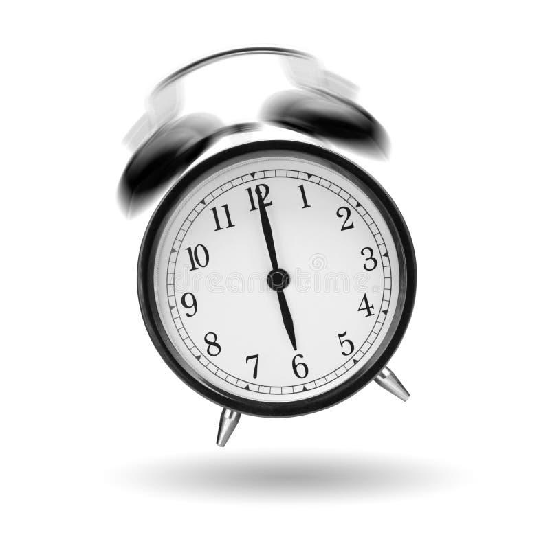 Reloj de alarma de sonido imagenes de archivo