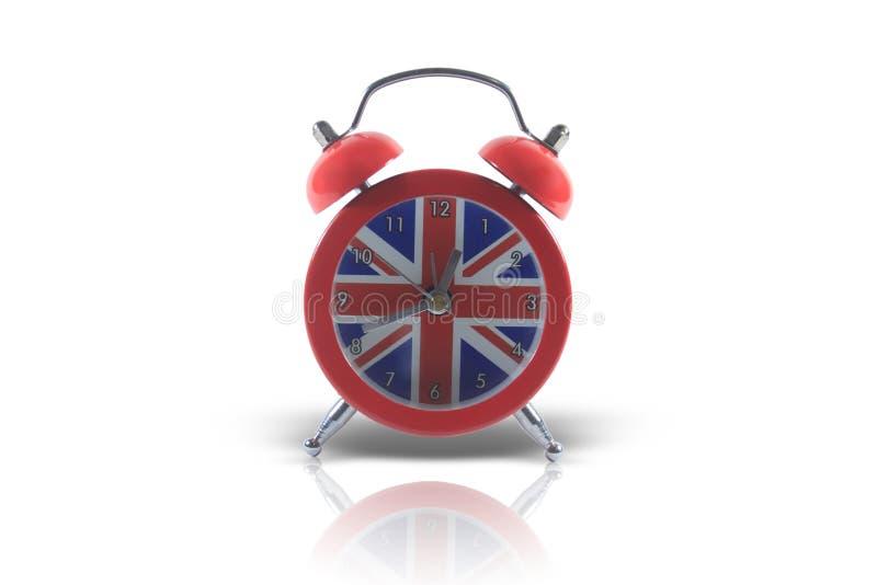 Reloj de alarma inglés imagen de archivo libre de regalías