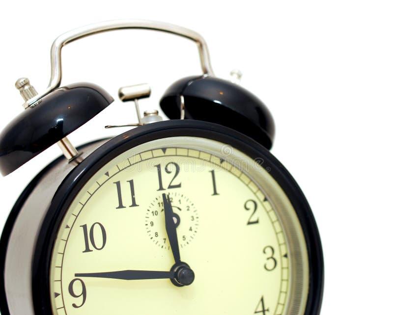 Reloj de alarma retro foto de archivo