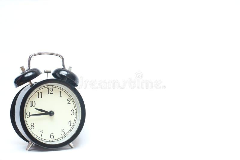 Reloj de alarma retro fotos de archivo libres de regalías