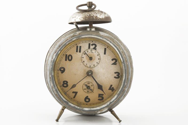 Reloj de alarma viejo fotos de archivo libres de regalías
