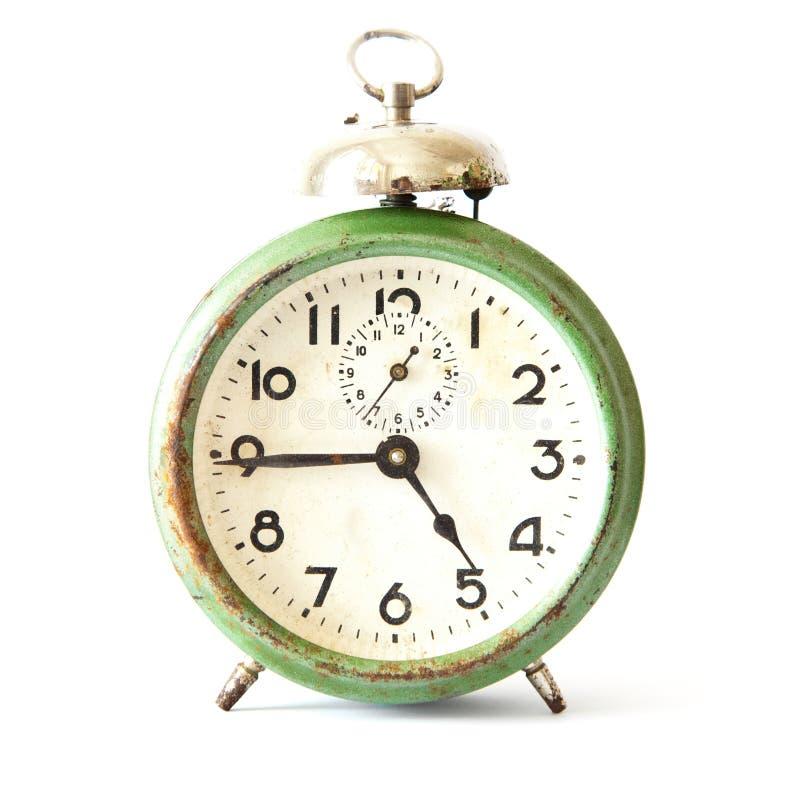 Reloj de alarma viejo fotos de archivo