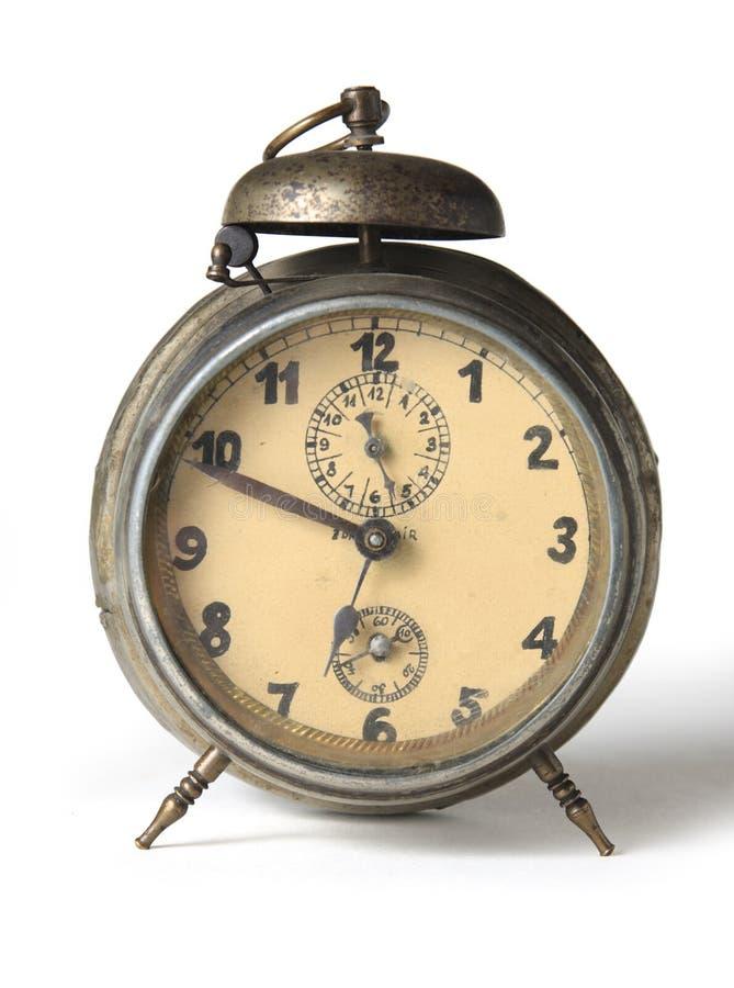 Reloj de alarma viejo imágenes de archivo libres de regalías