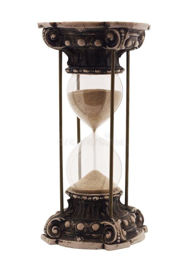 Reloj de arena antiguo imagen de archivo