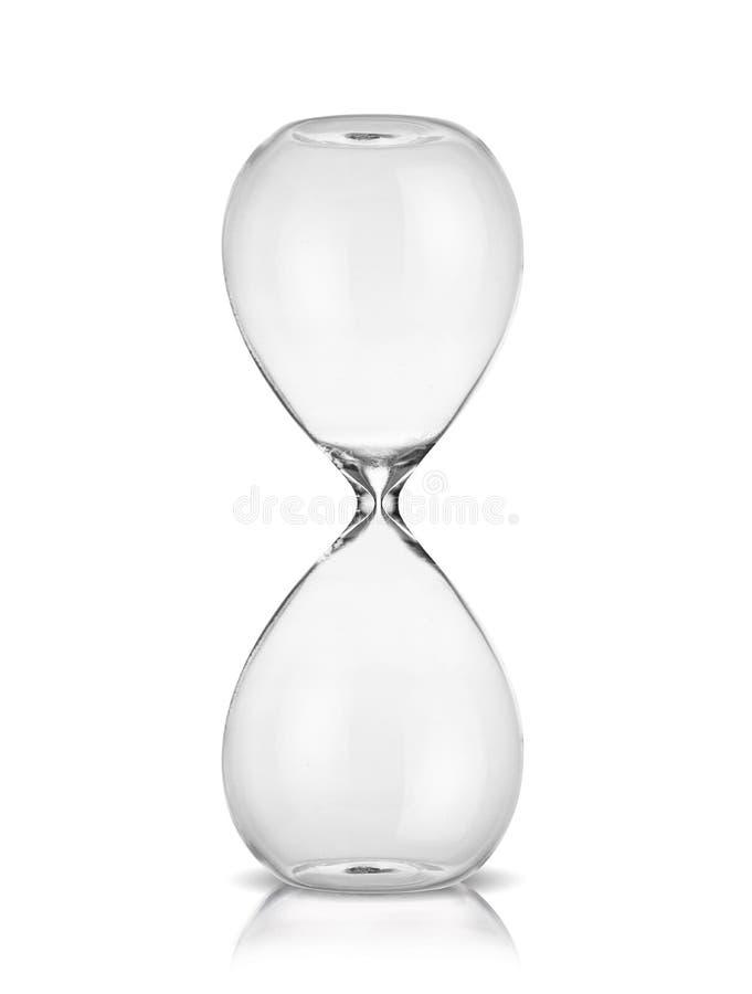 Reloj de arena vacío foto de archivo libre de regalías