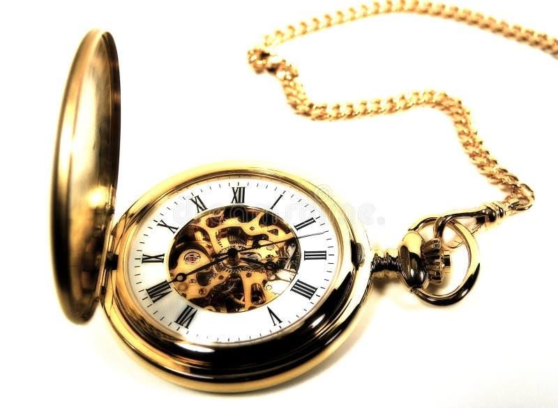 Reloj de bolsillo 2 fotografía de archivo libre de regalías