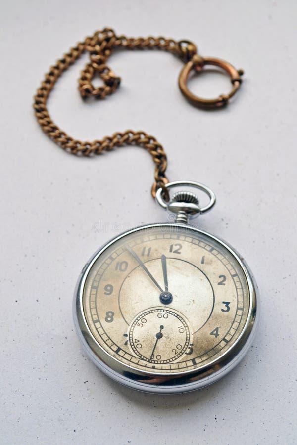 Reloj de bolsillo fotografía de archivo