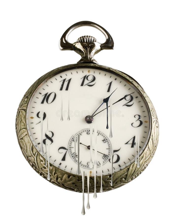 Reloj de bolsillo stock de ilustración